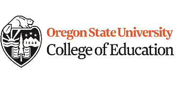 Oregon State University, College of Education logo