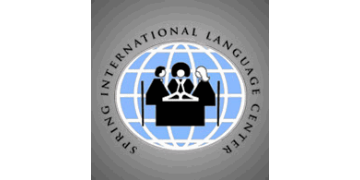 Spring International Language Center, University of Arkansas logo